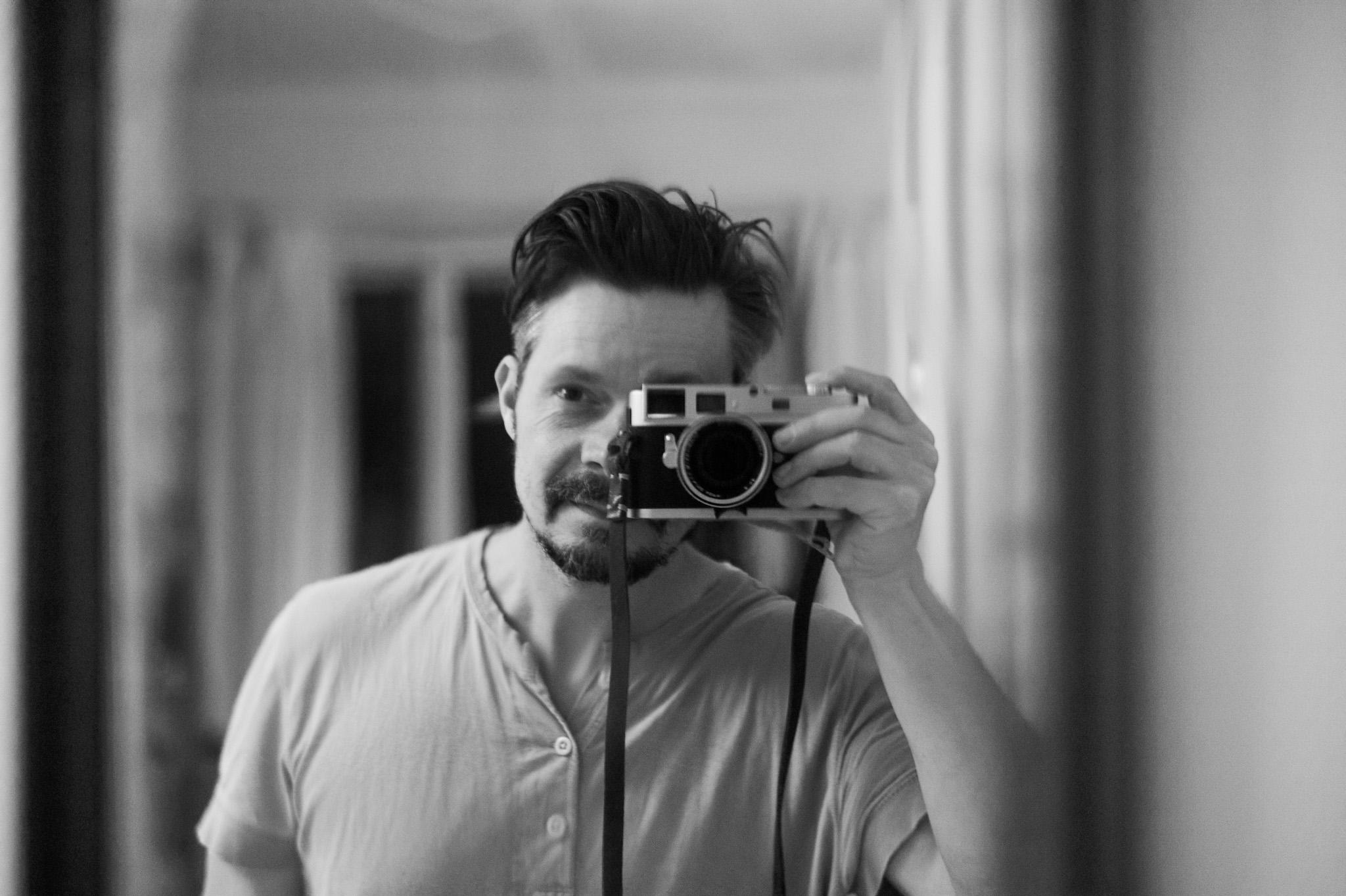 Mathias Hegnsvang bag kamera