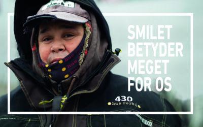 Smilet betyder rigtig meget for os